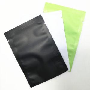 Matte Glossy Flat Open Top Aluminum Foil Bag