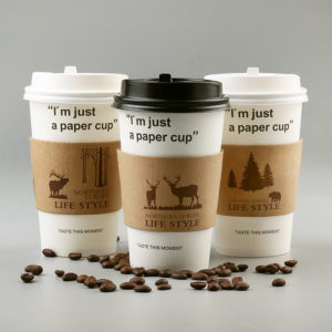 Double-deck kraft paper Cup