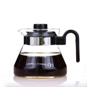 Fire Pot Tea glass Coffee Pot