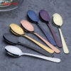 Stainless Steel Rose gold Tea Spoon