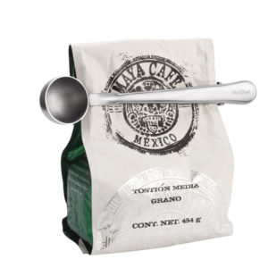 2-in-one Stainless Steel Coffee Scoop