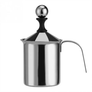 Stainless Steel Double Mesh 400ML/800ML Milk Frother / Creamer