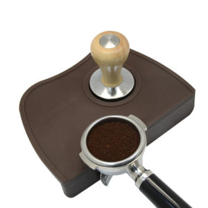 brown High Quality Espresso Coffee Tamper Mat