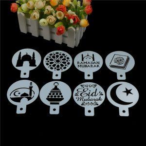Eid Mubarak Ramadan biscuits decorations